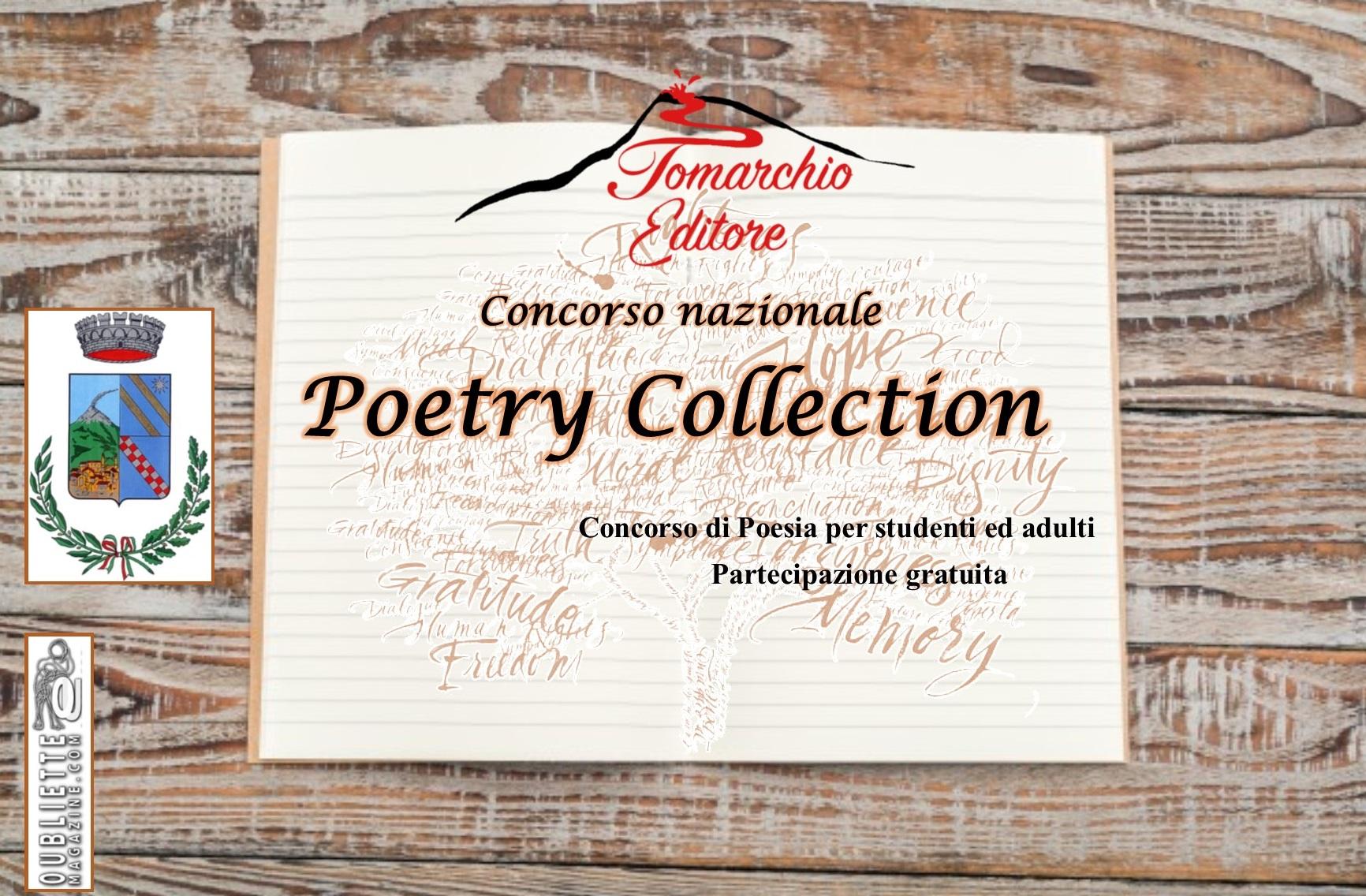 Poetry Collection: bando di partecipazione del concorso nazionale di poesia – adulti e studenti